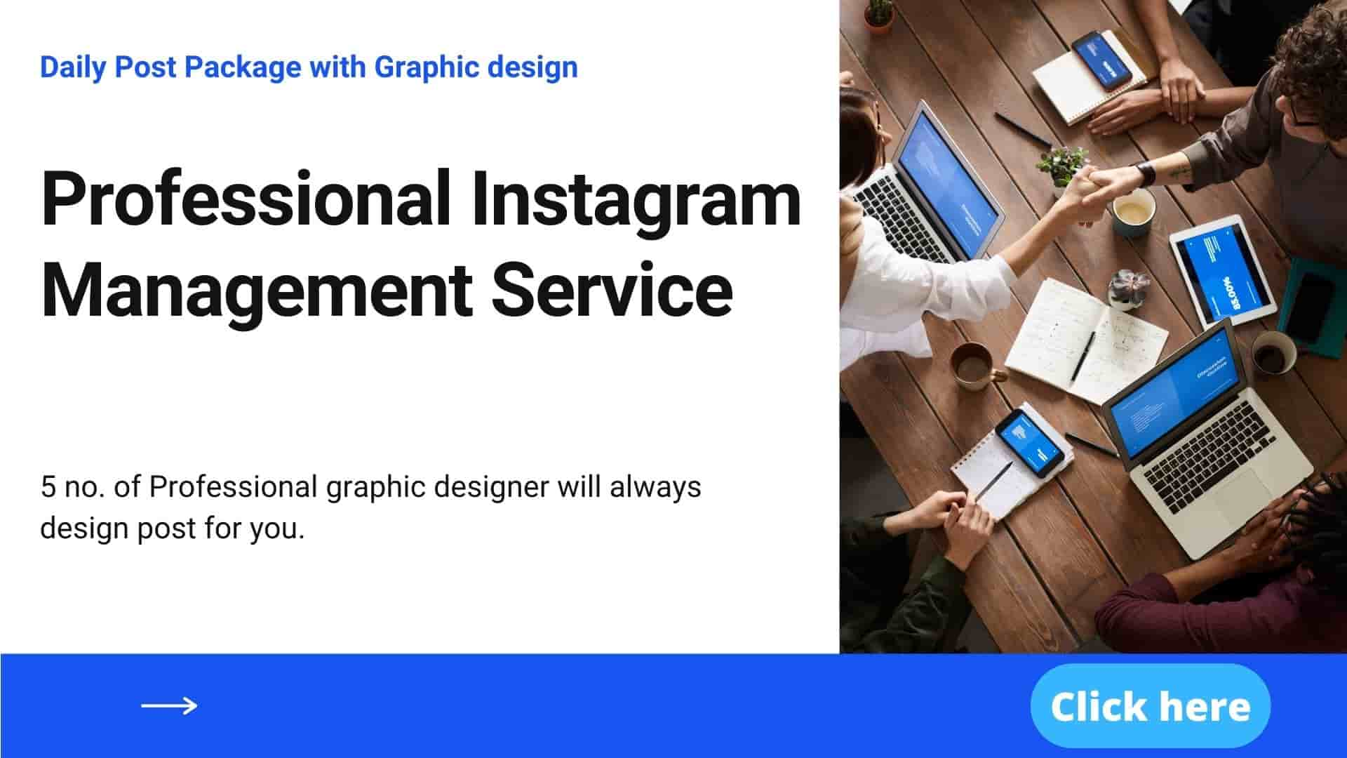 Professional Instagram Management Service to Help You Grow Fast.
